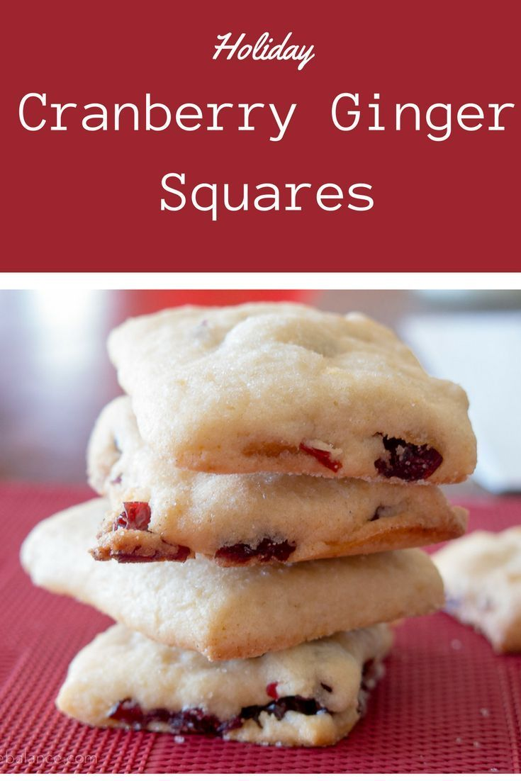 Cranberry Ginger Sugar Cookies A soft buttery cookie, laced with orange zest, filled with dried cranberries, cherries and a bit of candied ginger. Add these pretty cookies to your holiday cooking baking plan.