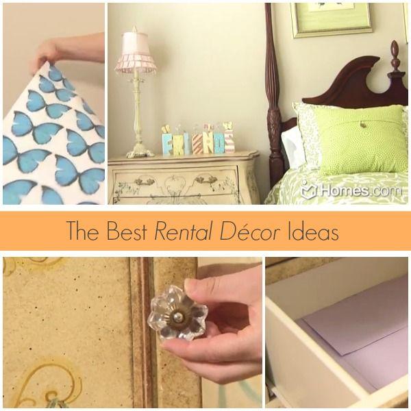 The Best Rental Décor Ideas