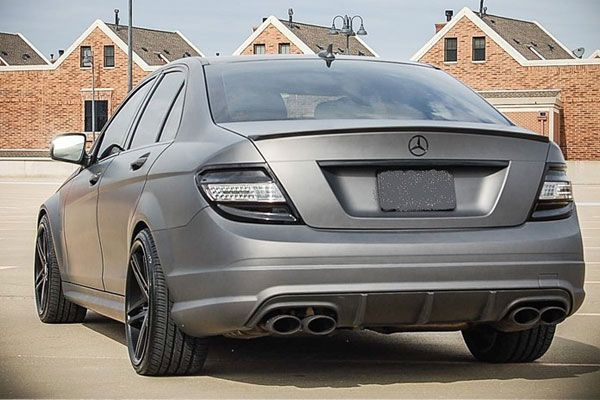 Mercedes C300 Painted Black Wheels Google Search With Images