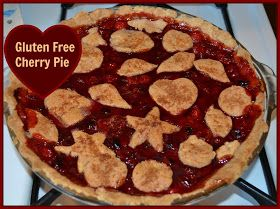 Homemade Dutch Apple Pie: Gluten Free Cherry Pie (Egg Free, Nut Free, Corn Free, Dairy Free)
