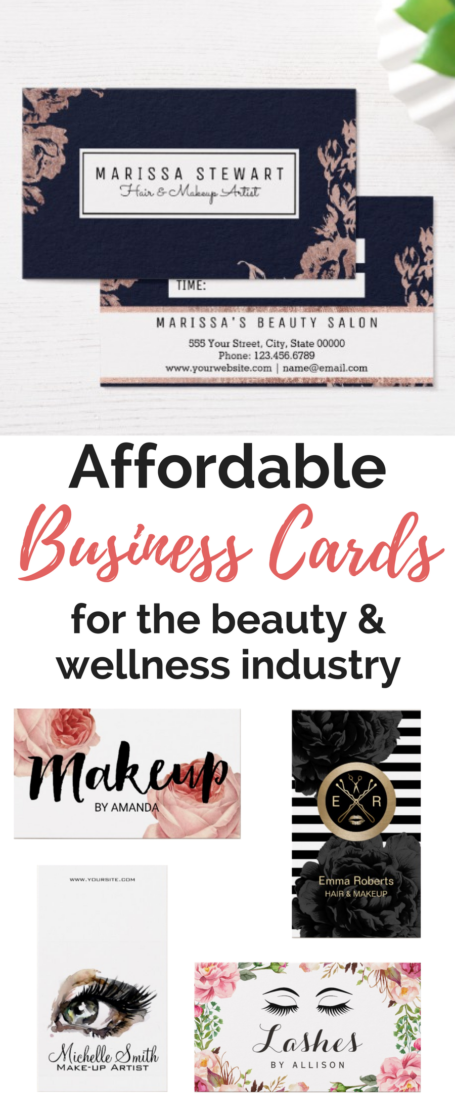 Affordable Business Cards For Salons Spas Order Here Esthetician Business Cards Salon Business Cards Spa Business Cards