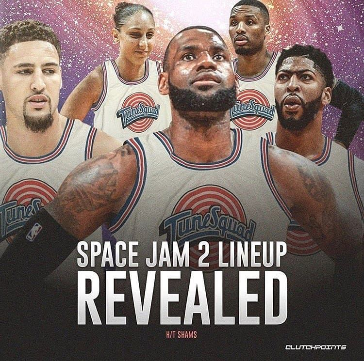 Follow For The King On Instagram Space Jam Lineup Follow For More Kinglbjames23 La Bronbron Space Jam Lebron James Wallpapers King Lebron James