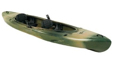 Camo Tandem Kayak Review Also Comes In Tan And Sunrise Colors This