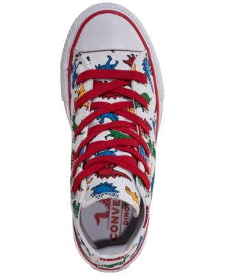 Converse Little Boys  Chuck Taylor All Star Dinoverse High-Top Casual  Sneakers from Finish 69cc531b05