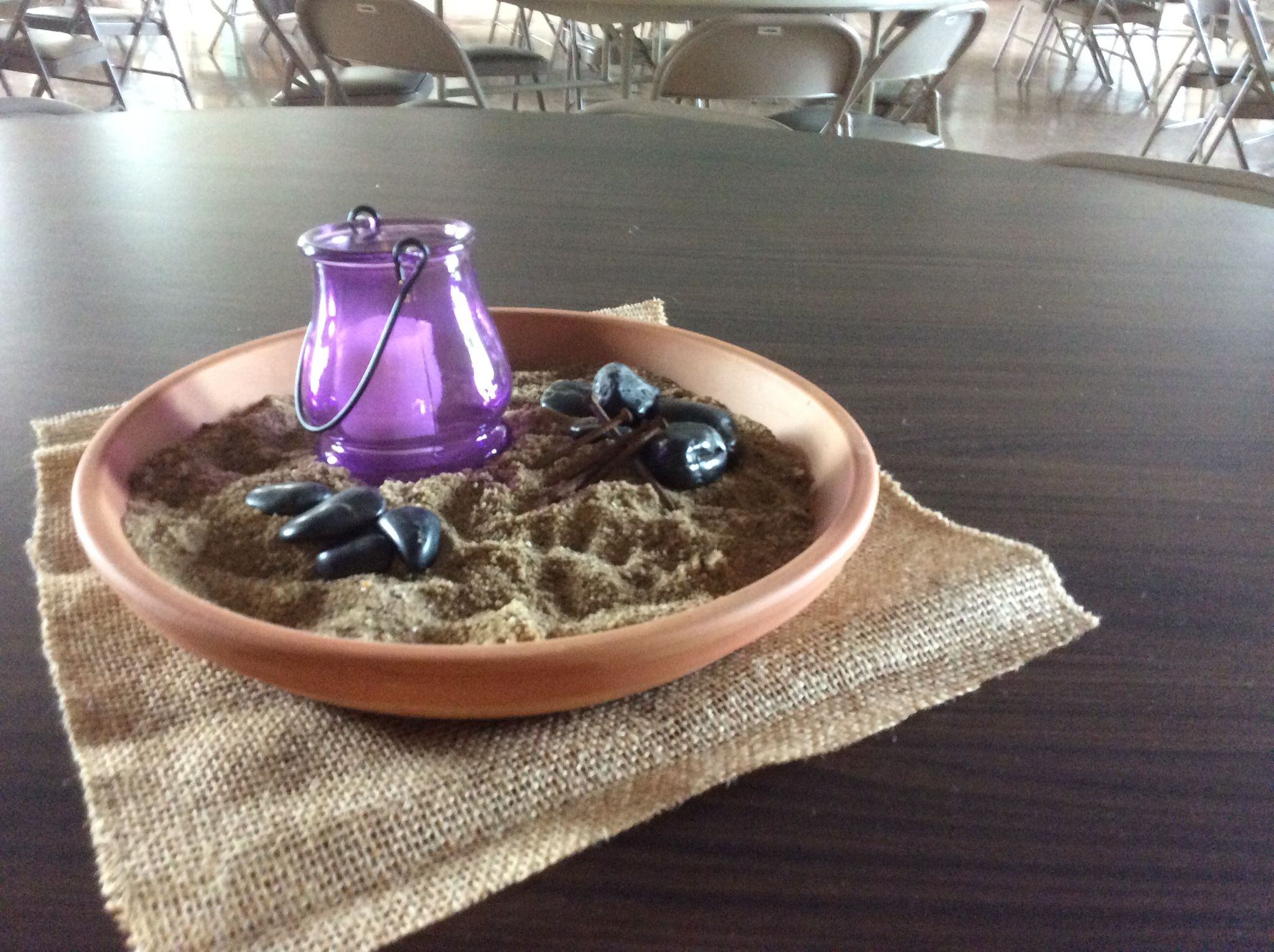 Lenten Centerpiece Lent Church Lenten