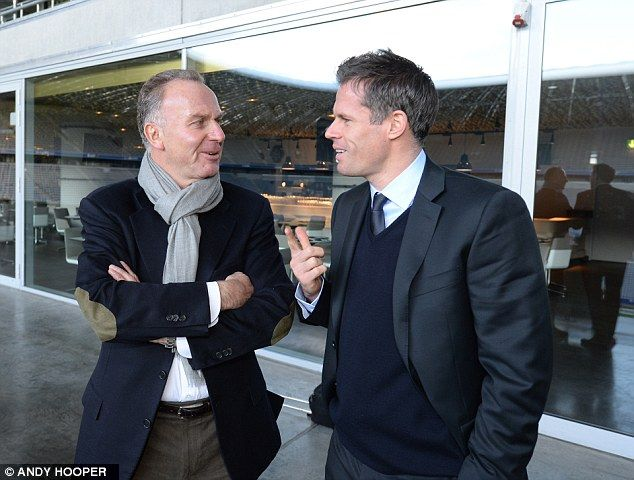 Carragher and Rumminegge