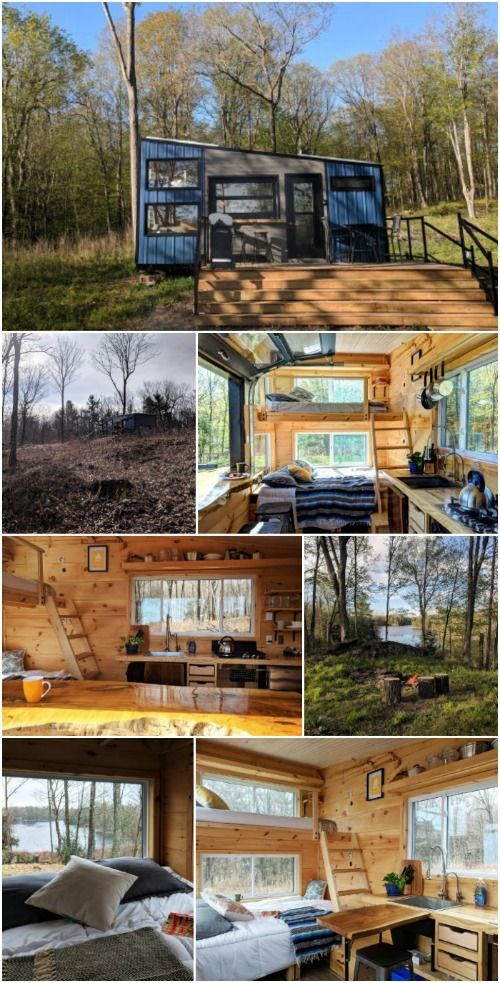 Tiny Home Designs: Stay In 160 Square Feet Of Rustic Woodland Luxury At