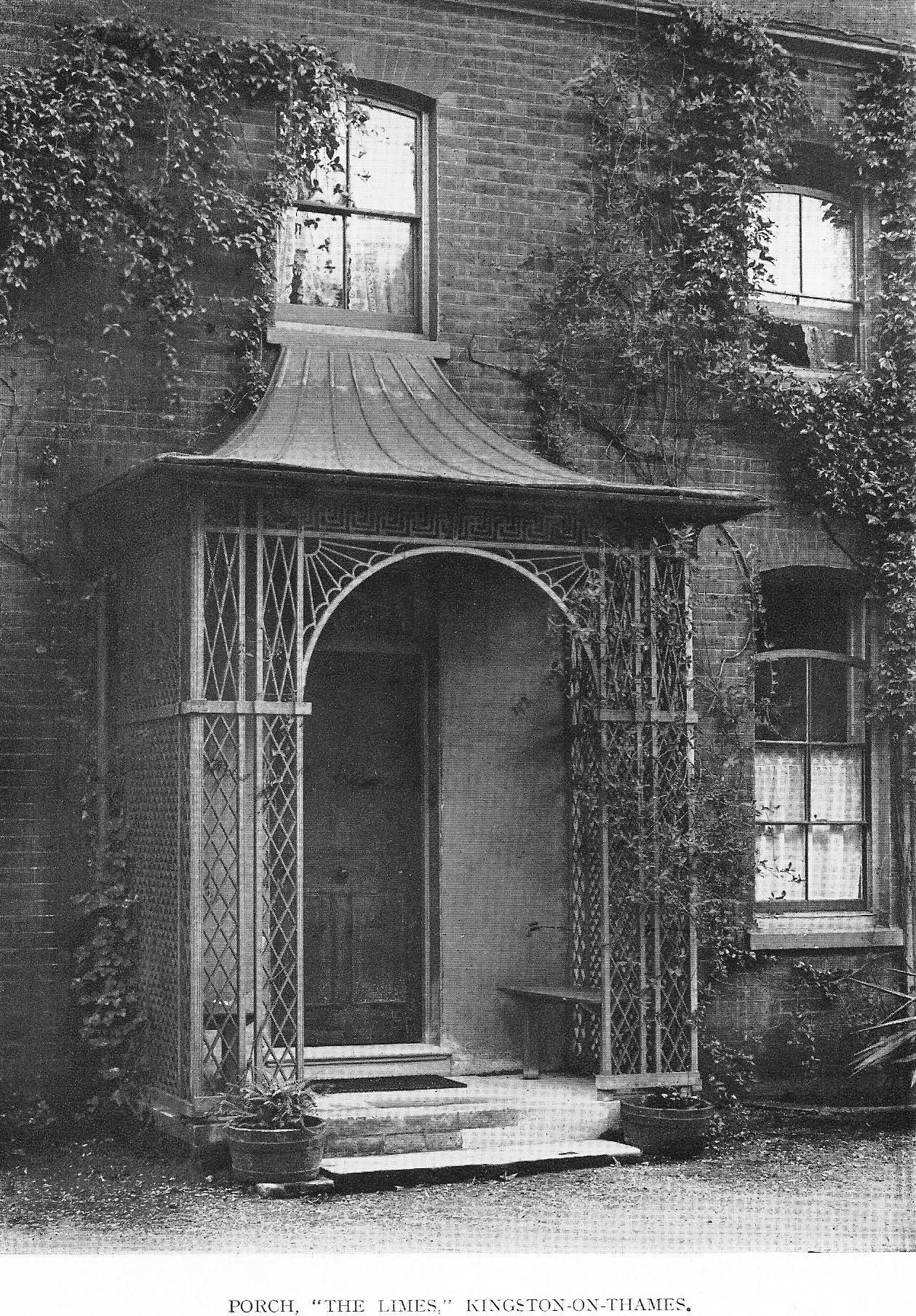 Late Georgian Porch England In 2019 Porch Canopy