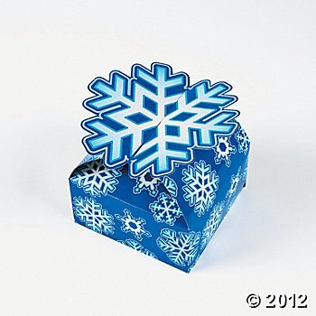 3d Snowflake Gift Boxes Discontinued Special Christmas Gift Holiday Gift Box Snowflake Party