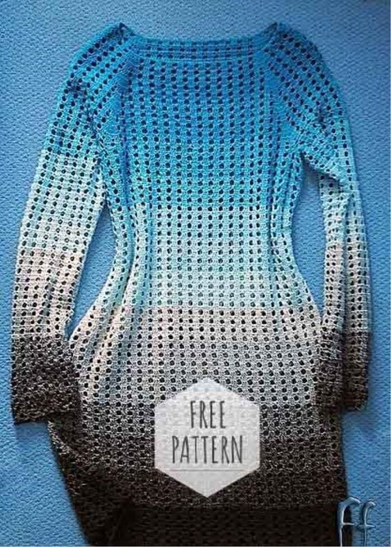 How to Crochet a Bodycon Dress/Top -   15 dress Cocktail pattern ideas