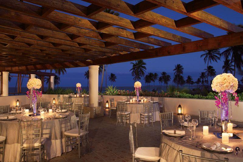 Reception Site Portofino Terrace Destination Wedding Punta Cana Dreams Palm Beach Punta Cana Dreams Punta Cana