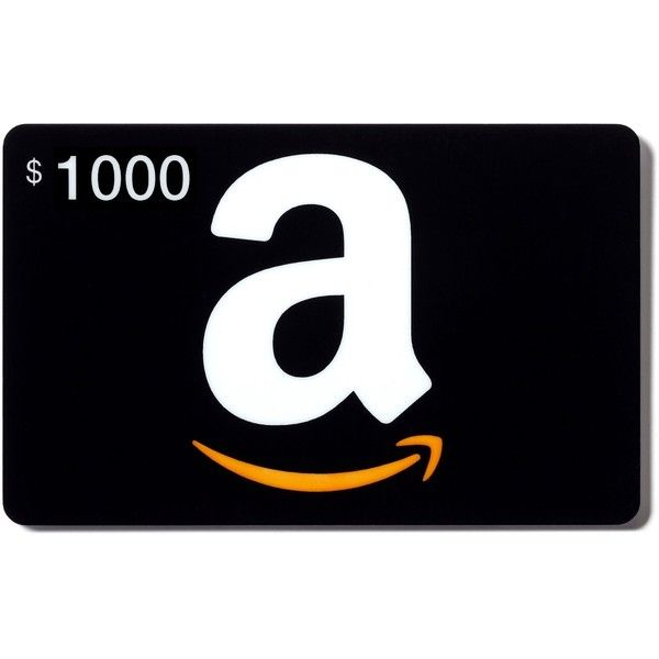 Amazon.com Gift Cards In a Greeting Card ($1,000) ❤ liked on Polyvore featuring gift cards, filler, accessories and misa