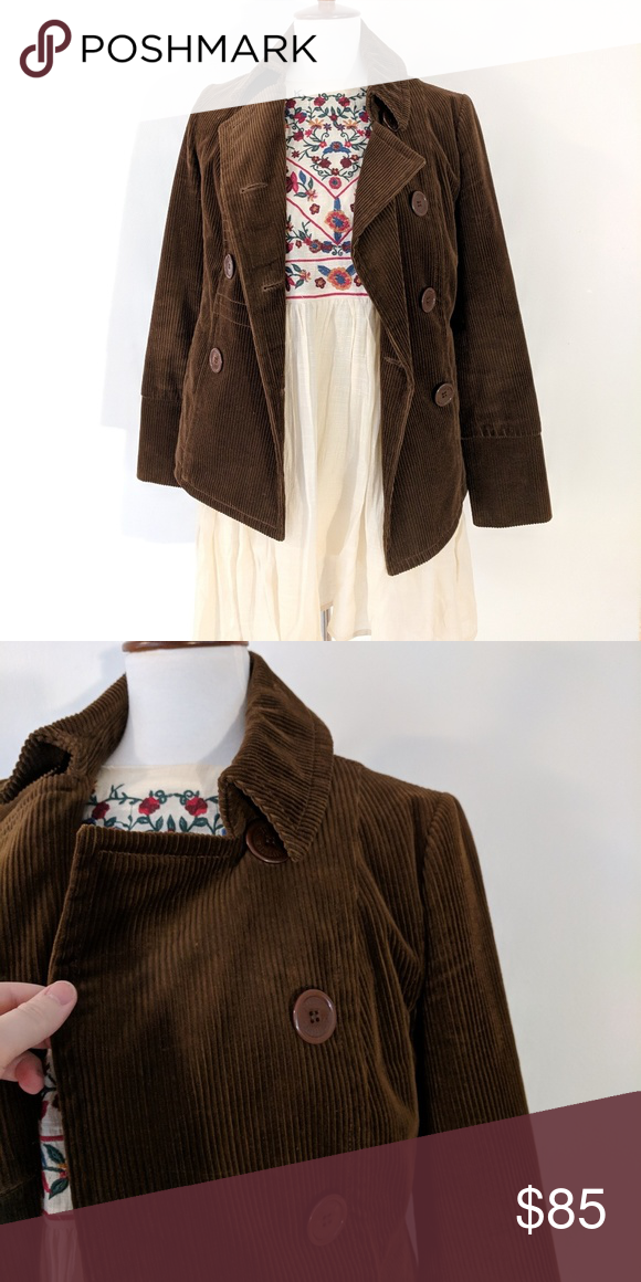 932d80dc9e46 Juicy Couture • Double Breasted Corduroy Jacket Juicy Couture • Double  Breasted Corduroy Jacket Chocolate brown Juicy Couture double-breasted  corduroy ...