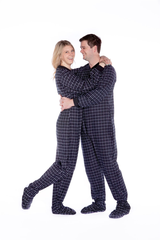 adult footy pajamas mens
