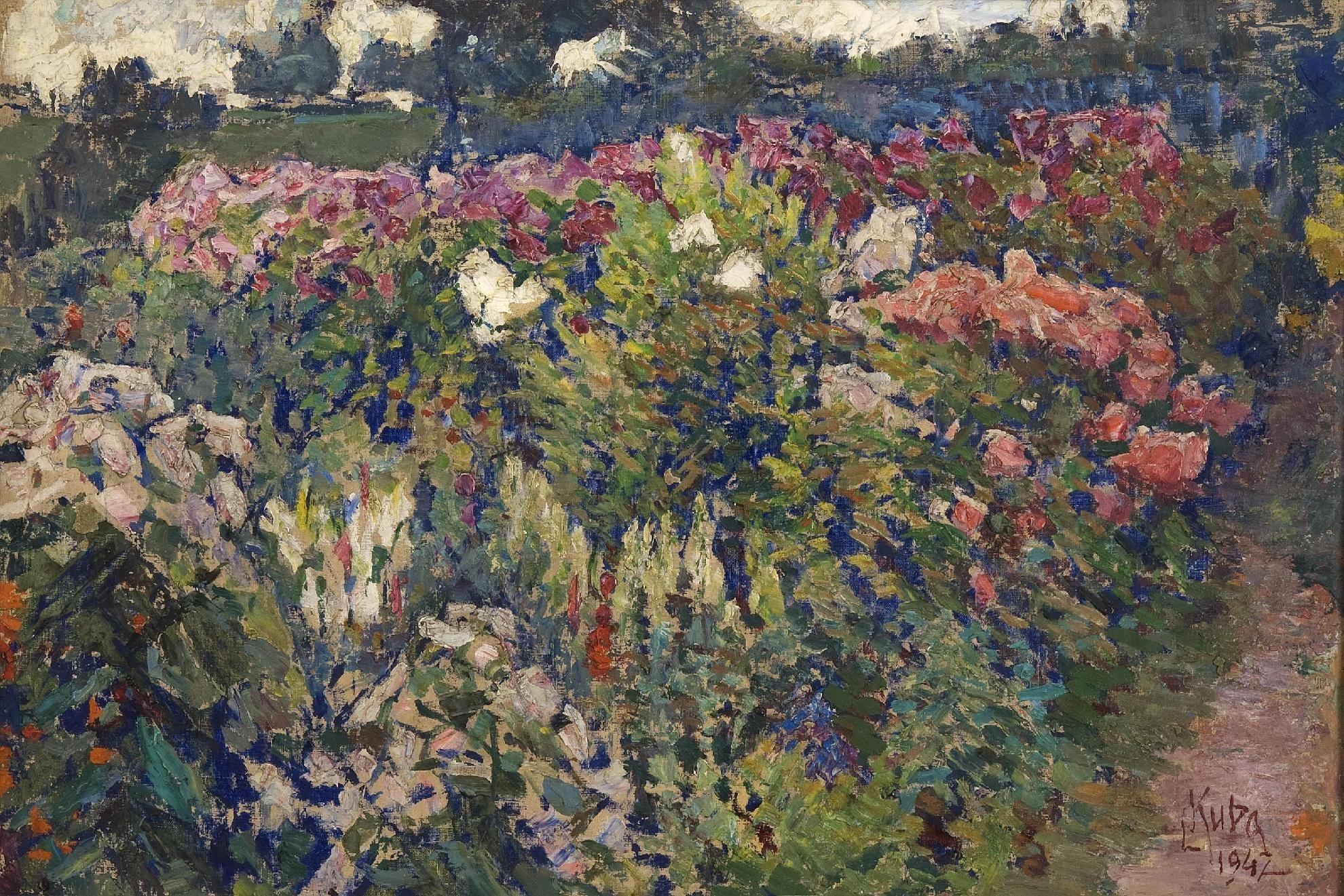 LUDVÍK KUBA Garden Zahrada, 1942