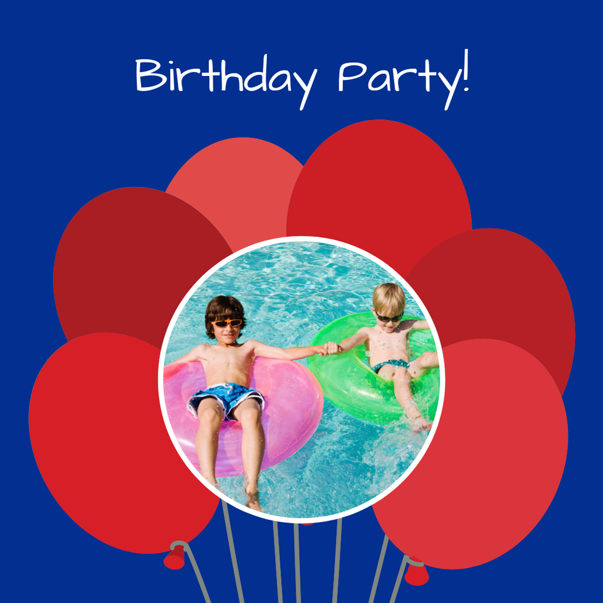Make this birthday party one to remember  After swimming, a
