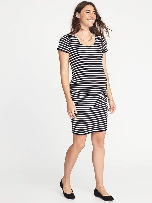 3ab34facc Old Navy Maternity Scoop-Neck Bodycon Dress