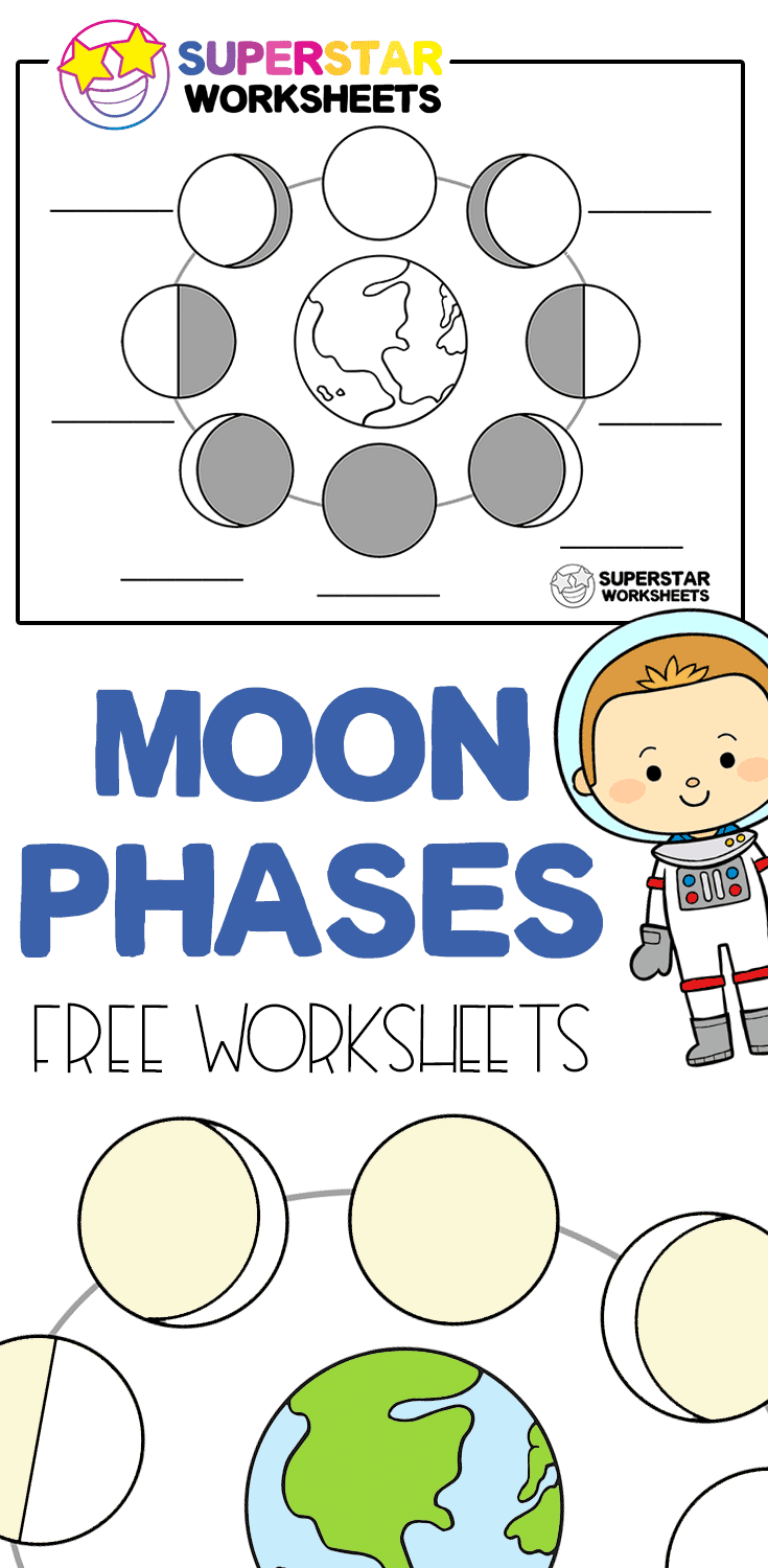 Free Moon Phases Worksheets And Activities For Homeschool Or Classroom Use Includes Free Moon Phases Col Moon Activities Moon Phases Activities Moon For Kids [ 1500 x 735 Pixel ]