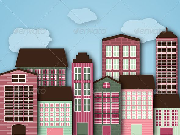 Cartoon Buildings Google Search Art Pinterest