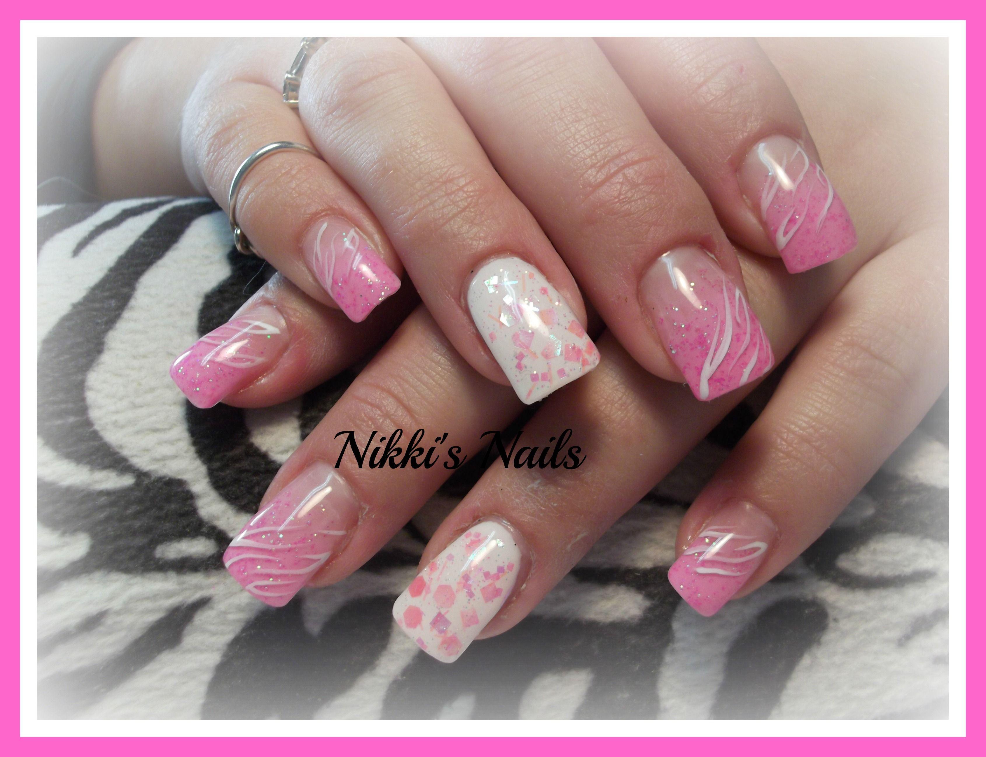 White Zebra | Nails | Pinterest | Beautiful nail art