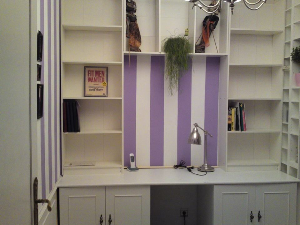 Ikea Küchenrollenhalter ~ Diy home office created with ikea gersby and ikea metod lower