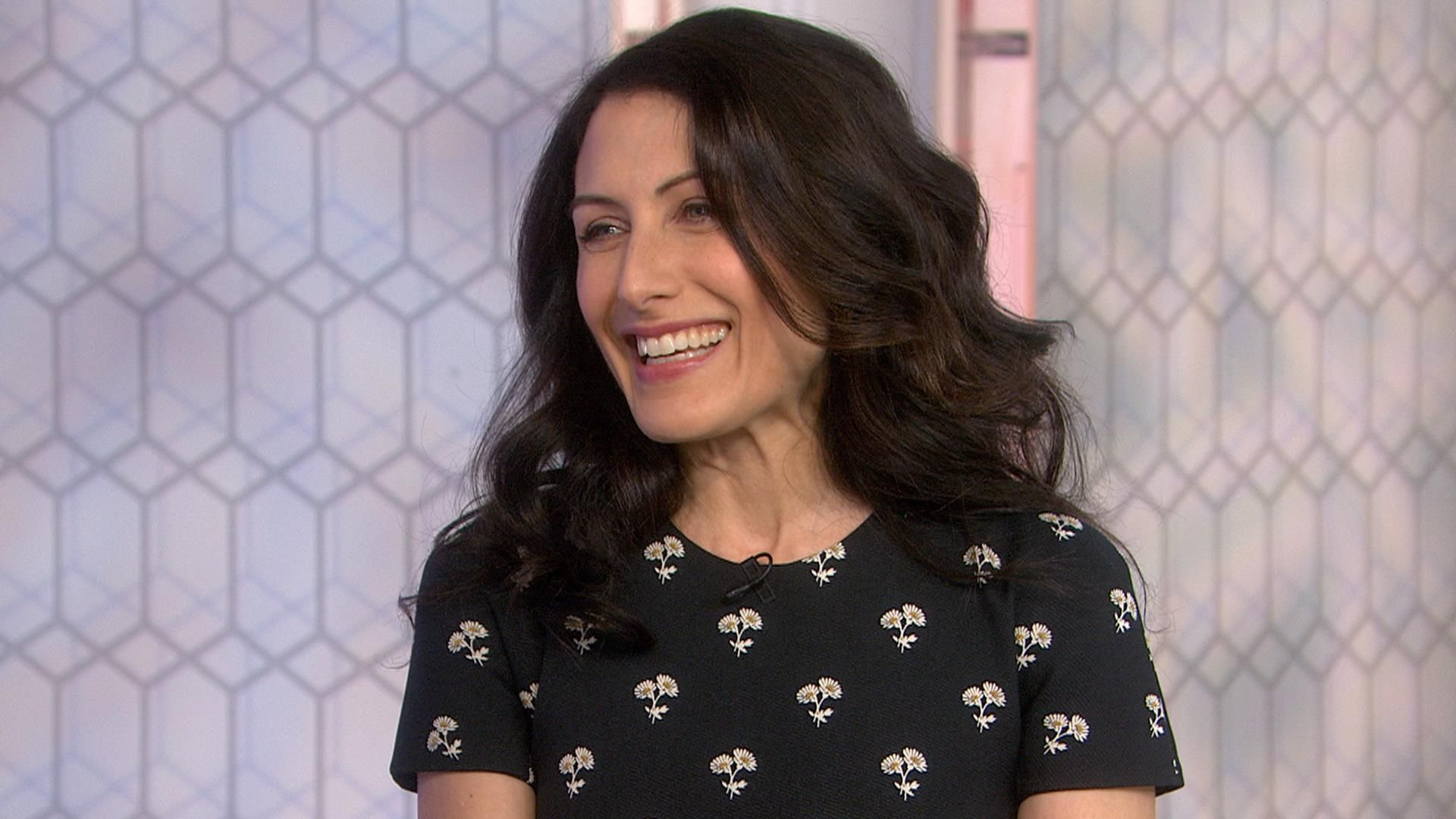 """Actress Lisa Edelstein, star of Bravo's """"Girlfriends' Guide to Divorce,"""" talks about the comedy-drama series being renewed for a fifth season and her happiness since getting married to artist Robert Russell at age 48."""