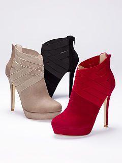 c70c77e2eece Women s Fall Booties - Platform and Wedge Booties from Victoria s Secret
