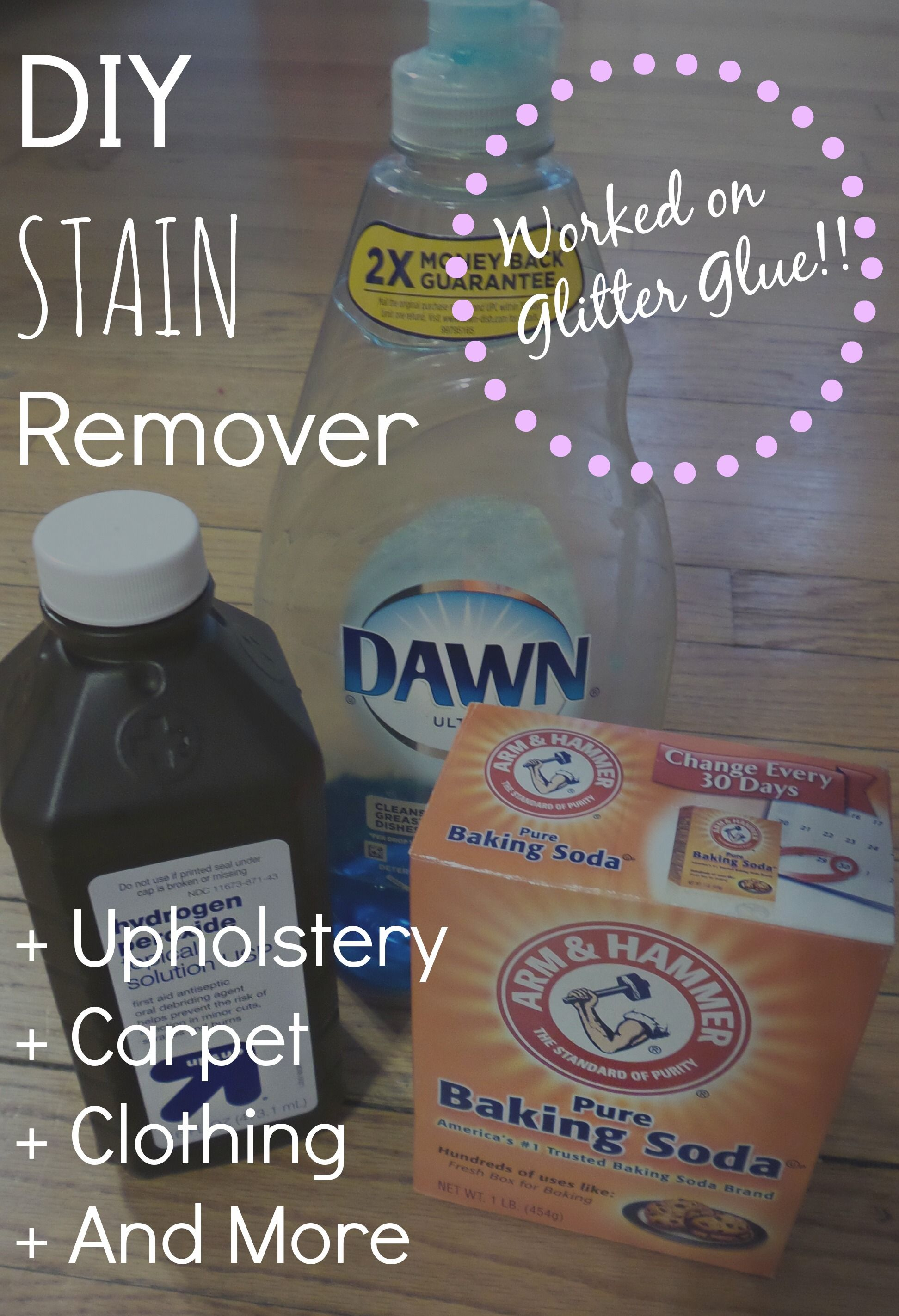 Diy upholstery cleanerstain remover cleaning car