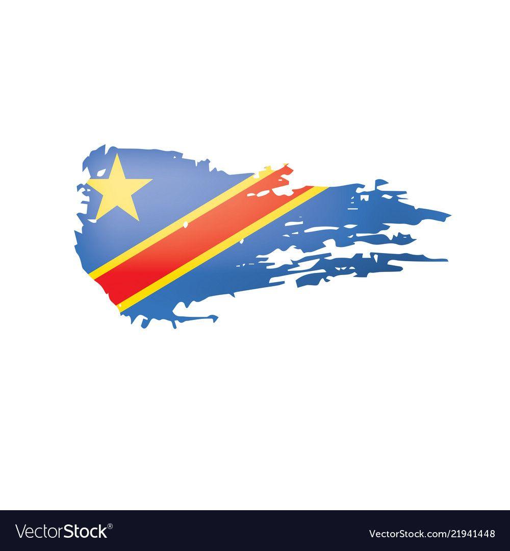 Democratic Republic Of The Congo Flag Royalty Free Vector Sponsored Congo Republic Democratic Congo Flag Vector Free Democratic Republic Of The Congo