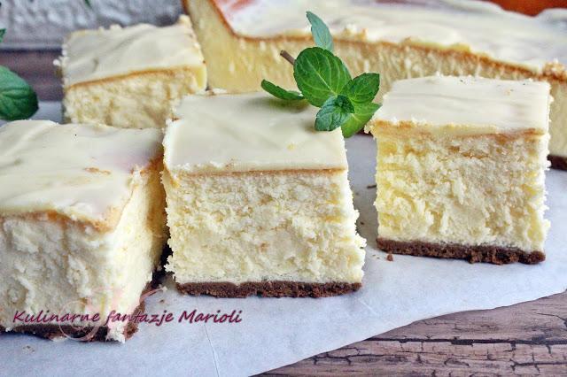 Podwojnie Mleczny Sernik Puszek Filmik Kulinarne Fantazje Marioli Food Food And Drink Baking