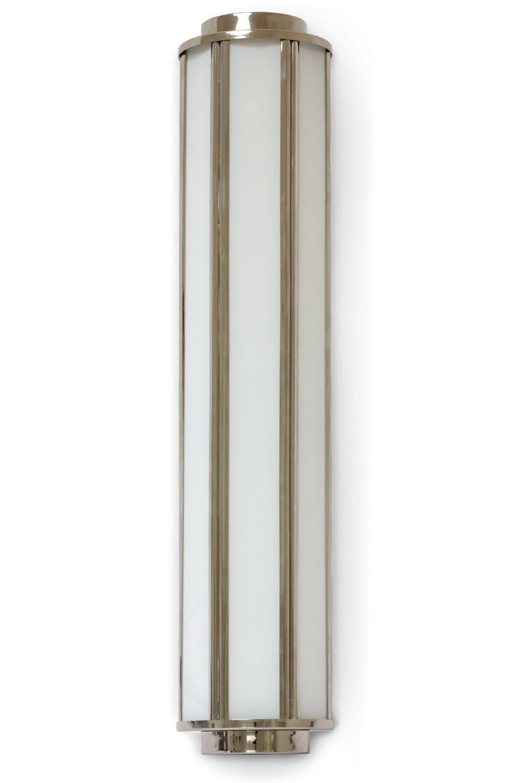 Art Deco Wandleuchte Z B Fur Spiegel 44 Cm Art Deco Badezimmer Wandleuchte Badezimmerlampen