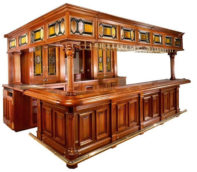Home Bar With Stained Glass Decor In 2019 Home Bar