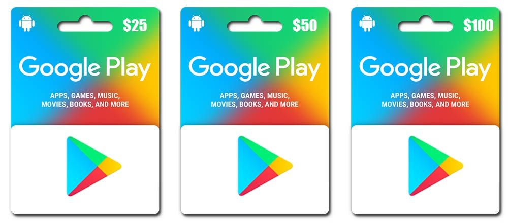 Get free Google Play gift cards and codes by completing