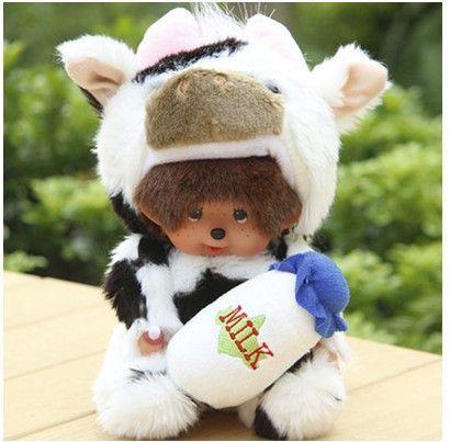 Free shipping new fashion Kiki doll 26 colors cute plush dolls 20 CM Cartoon Monchhichi Animal Style Supernova Sale Baby Gift