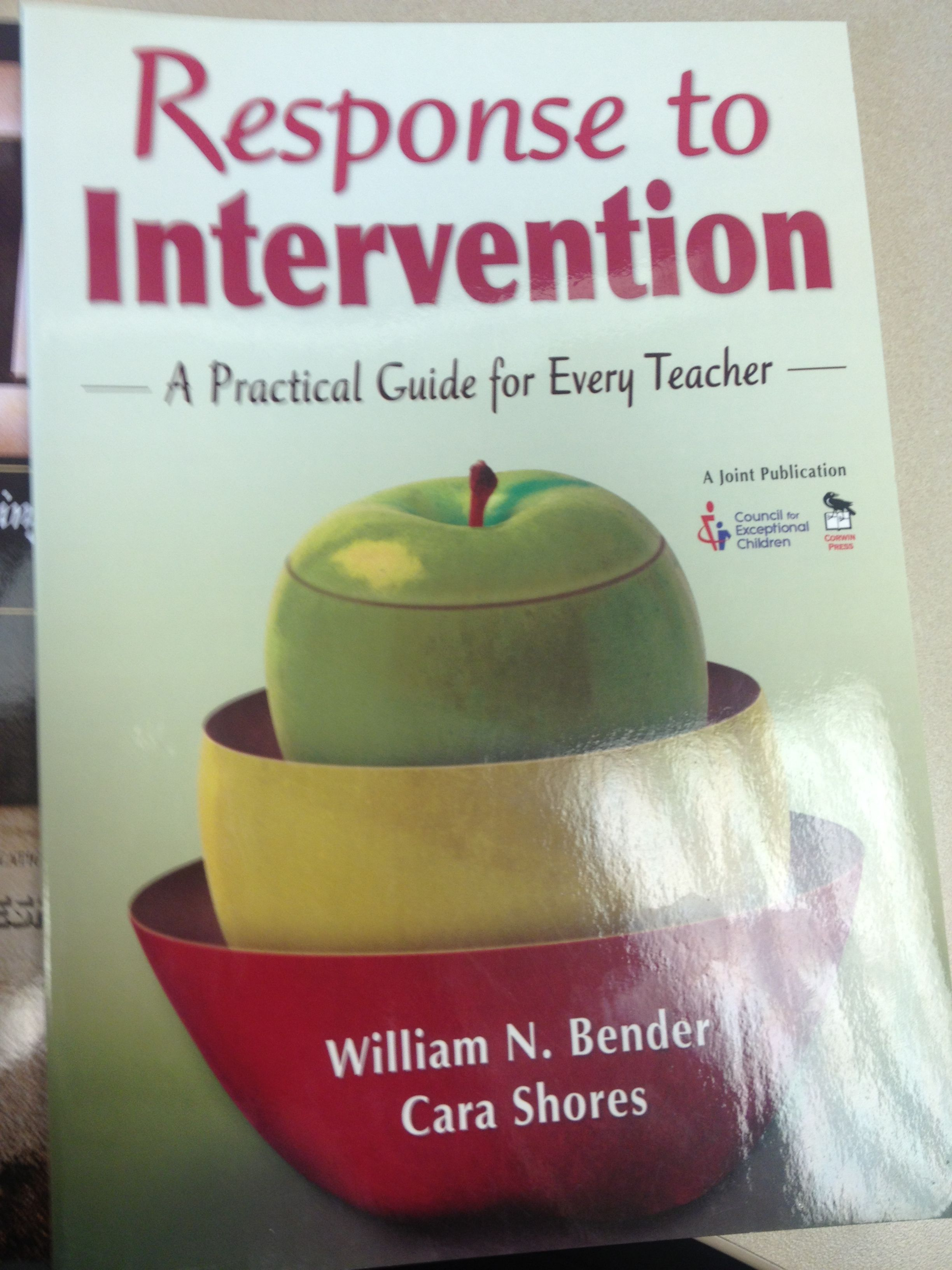 Response To Intervention A Practical Guide For Every