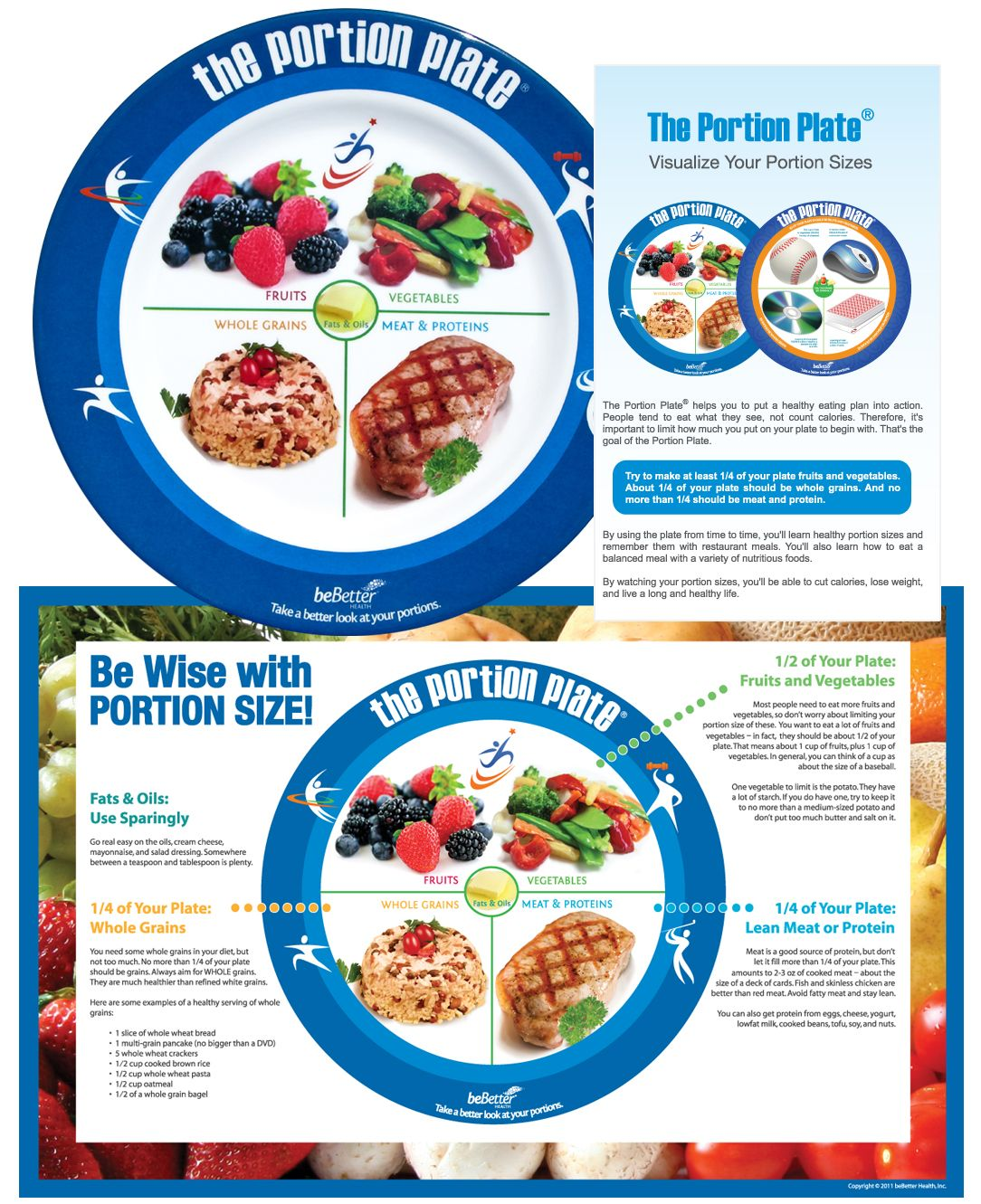 The  Portion Plate  for sale through this link but I think itu0027s helpful  sc 1 st  Pinterest & The