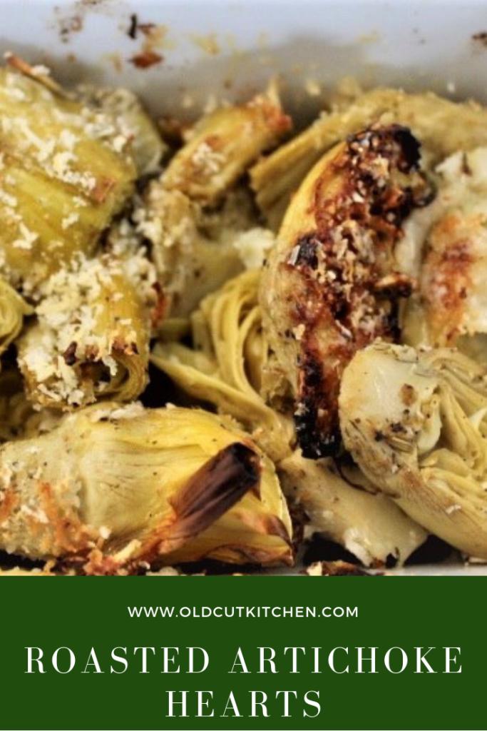 Roasted Artichoke Hearts - based on Carciofi recipe