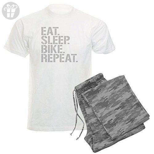 5adac820c CafePress - Eat Sleep Bike Repeat Pajamas - Unisex Novelty Cotton Pajama  Set, Comfortable PJ Sleepwear (*Amazon Partner-Link)