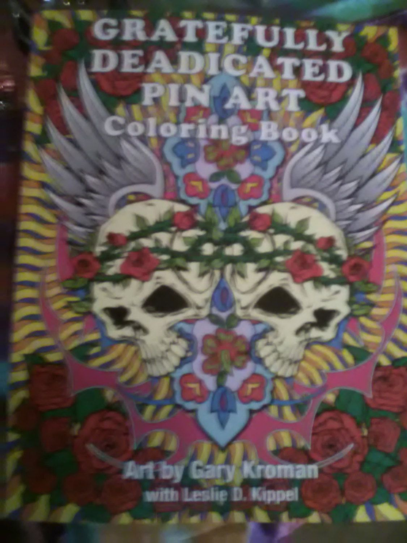 grateful dead relix art coloring book by funksfunkydyesnpins on etsy - Grateful Dead Coloring Book