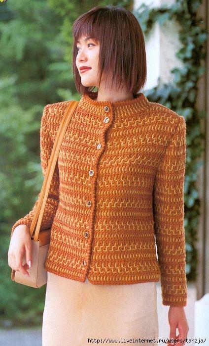 Crochet jacket (troppo carina)