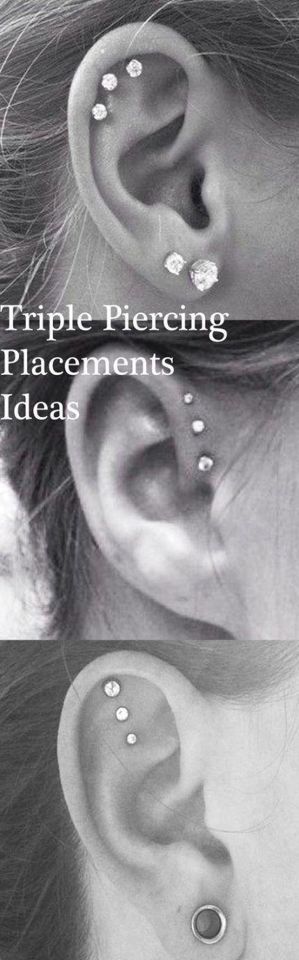 26 Trendy Ideas For Piercing For Girls Peircings Forward Helix #earpeircings