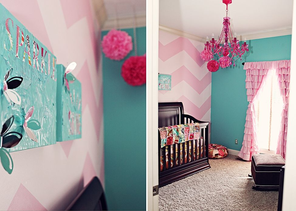 Going To Do Mad S Walls In Light Med Pink Chevron So