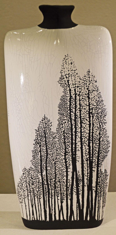 White aspens vase raku pottery aspen pottery and glaze raku pottery reviewsmspy