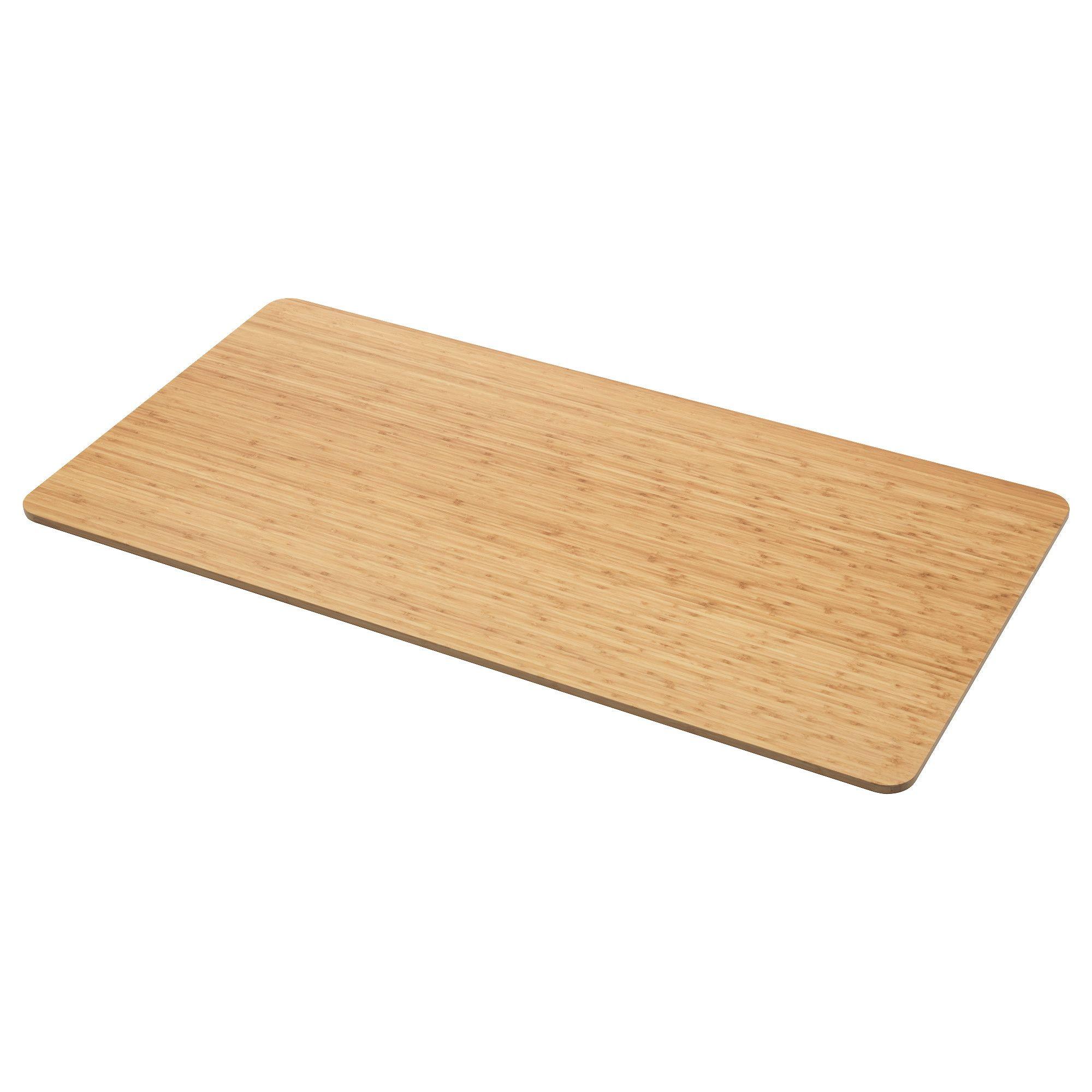 IKEA OVRARYD Bamboo Table top | Ikea hacks | Ikea table tops ...