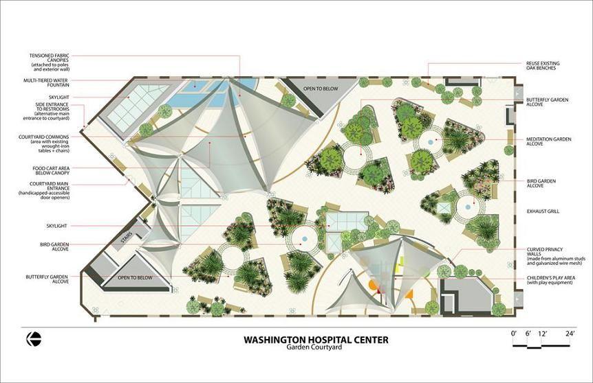 Landscape Garden Plans Ideas Hospital Floor Plan Healing Garden Design Hospital Design