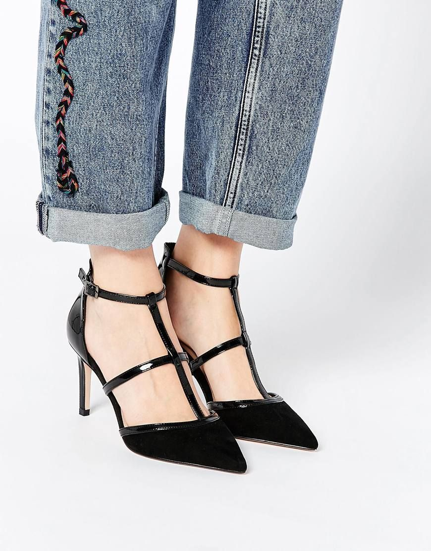 Buy Women Shoes / Asos Sweep The Board Caged Pointed Heels