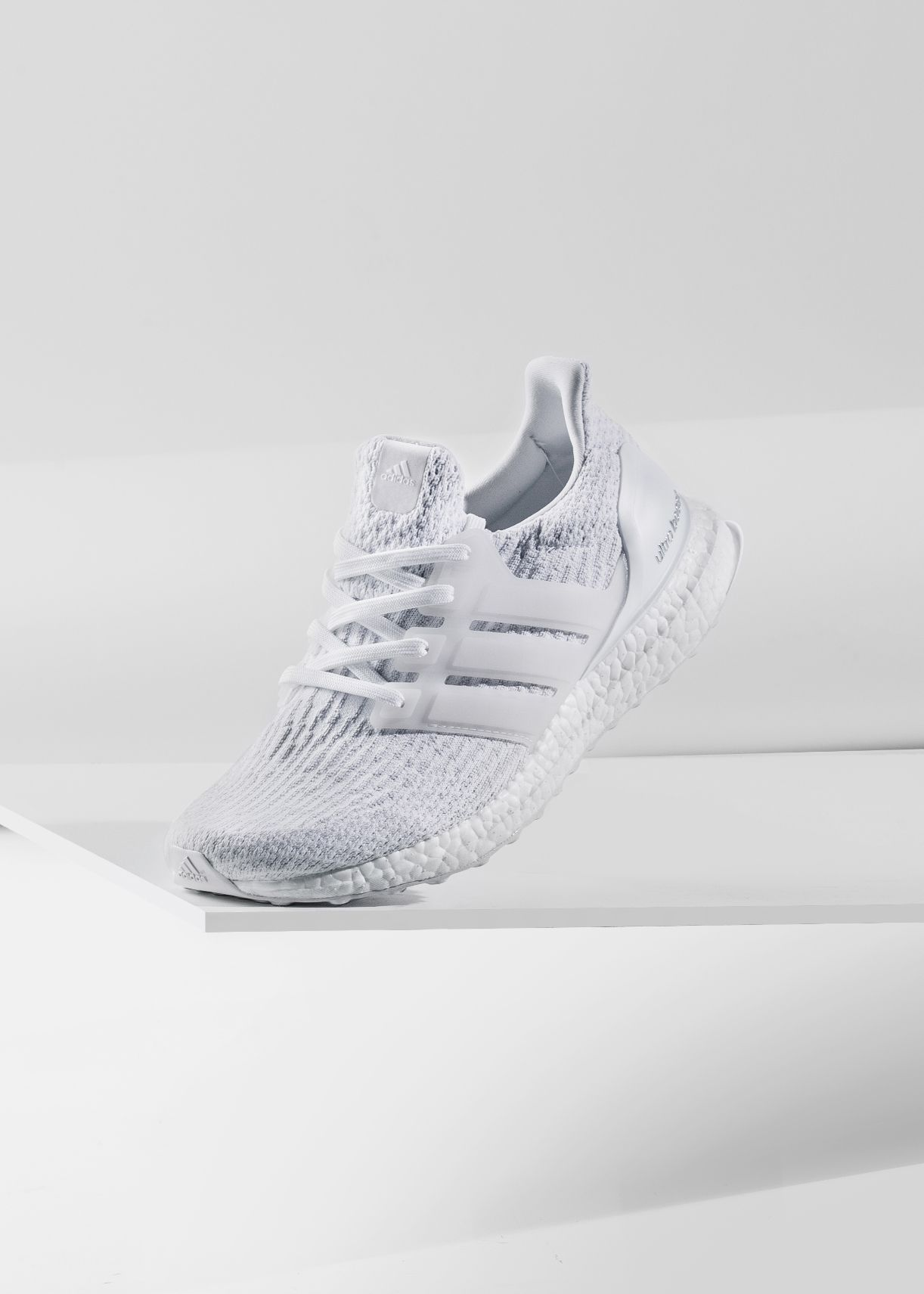 "8d3b1ce6d01b5 Adidas Ultra Boost 3.0 ""Triple White""  Adidas  Ultra  Boost  Primeknit   Fashion  Streetwear  Style  Urban  Lookbook  Photography  Footwear   Sneakers  Kicks ..."