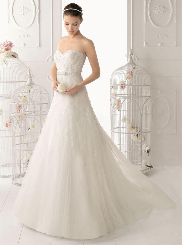 vestido novia palabra de honor palabra de www.palmiracompilar