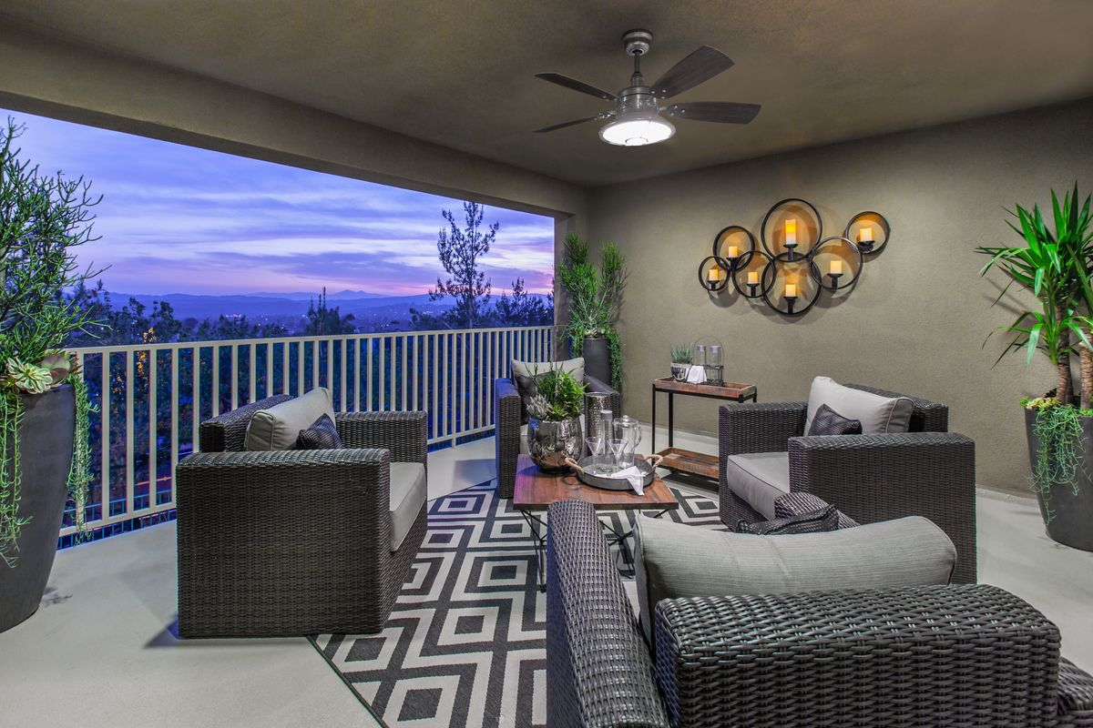 SerranoHills Plan 1 Bonus Room Upstairs Balcony by