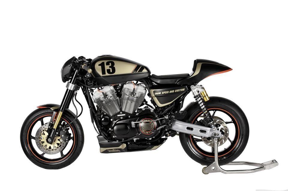 "racing cafè: harley ""xrcr sportster"" 1200shaw speed & custom"